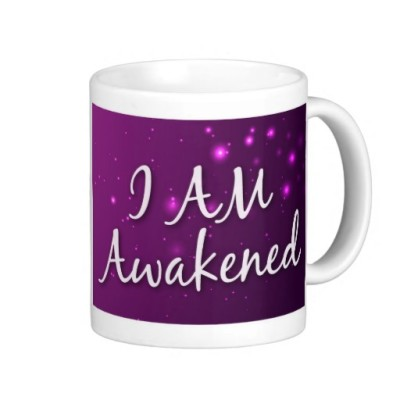 awakened coffee mug