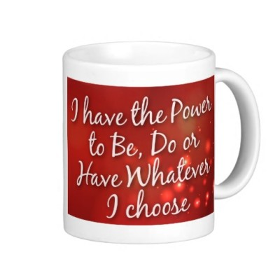 inspirational coffee mug